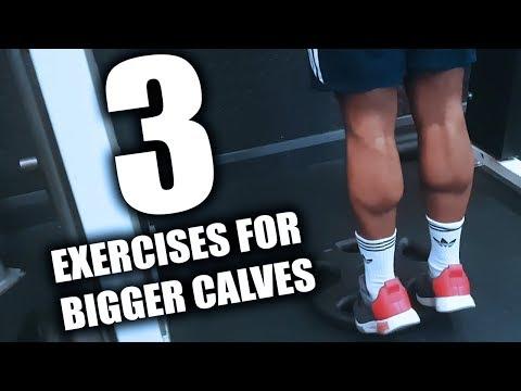 How to Get Bigger Calves | 3 Exercises for Bigger Calves