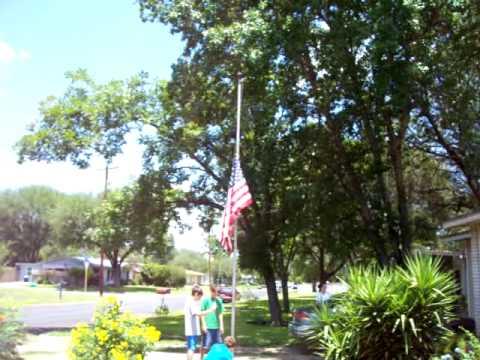 My Flag At Half Mast