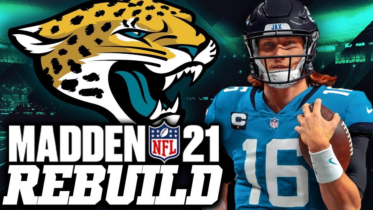 Rebuilding the Jacksonville Jaguars WITH TREVOR LAWRENCE | MVP + SUPER BOWL? 50 TDs IN 1 SEASON??!!