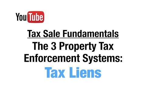 Tax Lien Certificates: Tax Sale Fundamentals