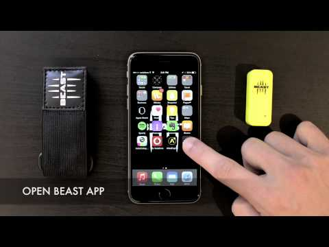 Match the sensor, login and select the exercise - IOS - EP. 2