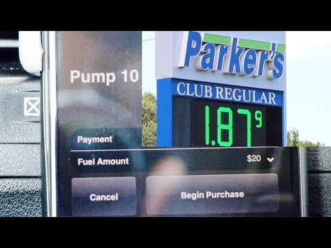 Turn On Gas Pump From Car Using App Parkers Membership