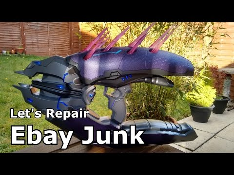 Let's Repair - Ebay Junk - Halo Needler Prop Replica - Pointy Problems