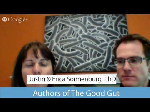 Food for Good Gut Bacteria w/ Drs Justin & Erica Sonnenburg