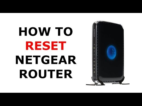 How to Factory Reset a Netgear Wireless Router