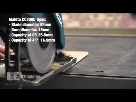 How To Quickly Cut Tile and Glass - Makita CC300D Cordless Tile Cutter
