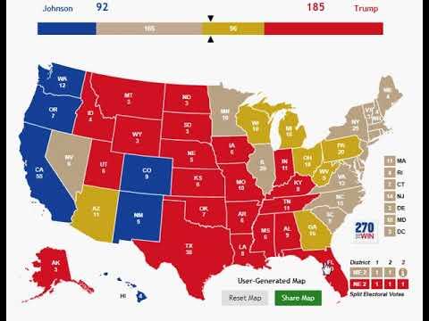 My Prediction: Election of 2020: The Rock (D-Ca) v. Trump (R-NY/Fl)