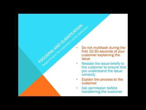 Customer Service Skills: Telephone Communication Skills
