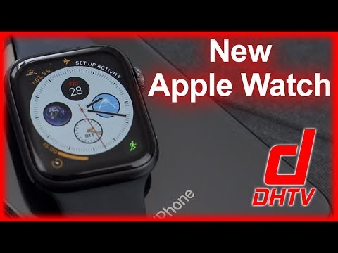 New Series 4 Apple Watch Unboxing - Space Gray 44mm