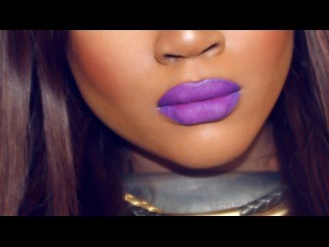 BEAUTY HACK | How To Create ANY Shade Of Purple Lipstick | LipTrick No.3