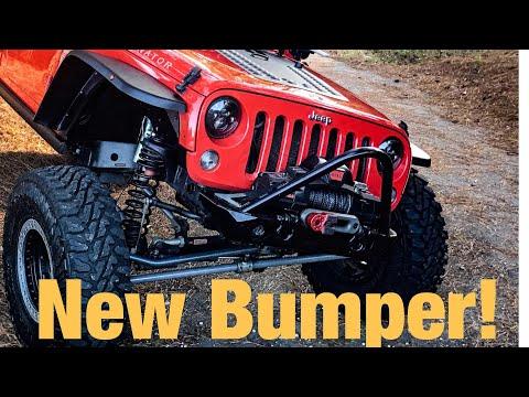My New Jeep Bumper | Offroad Bumper | Motobilt Inc