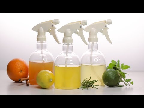 How To Make Vinegar Cleaning Spray