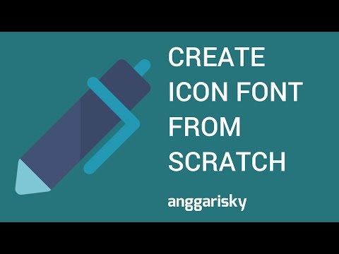 Create Iconfont using Sketch and IcoMoon Tutorial