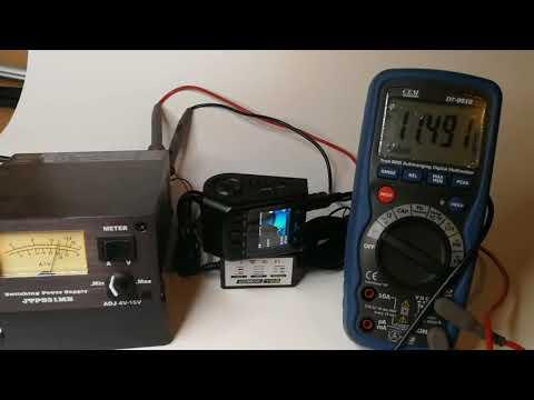 CellPower Dashcamera Hardwiring test 11.6V(+/-0.1V) Cut Off.