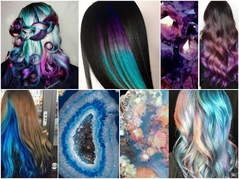 25+ Amazing Geode Hair Color Ideas