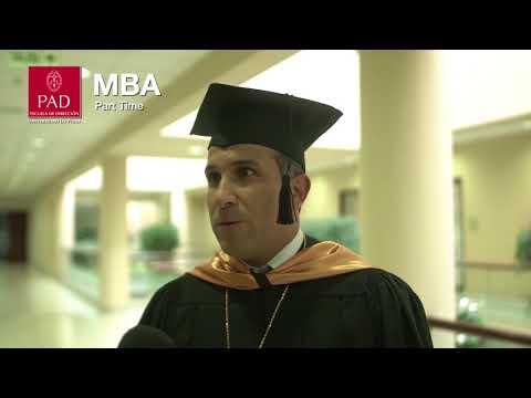 Graduación MBA Part Time