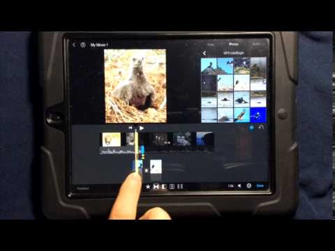 How to create and modify transitions in iMovie for the iPad