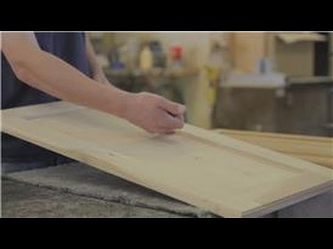 Cabinets 101 : How to Remove an Inner Wood Panel From a Cabinet Door
