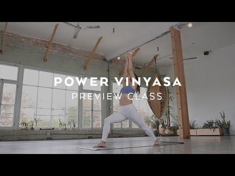Intermediate Power Vinyasa Yoga with Briohny Smyth