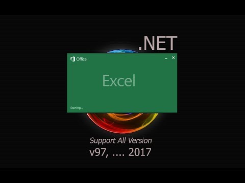 Manipulation Excel File 2016 Using (VB.Net)