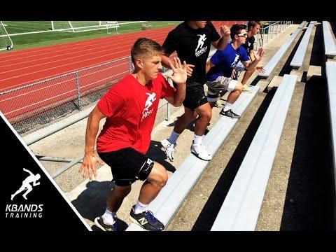 Bleacher Workout For Legs | Increase Explosive Power