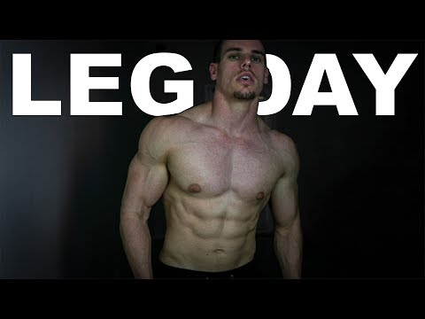 MY EXPLOSIVE LEG WORKOUT | Day 14