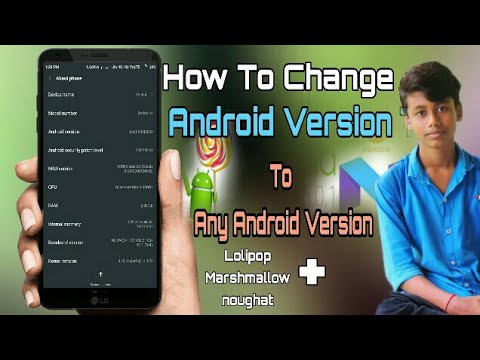 How To Change Android Version in Any Android || Easilyy increase android Version Deb Tech Hindi