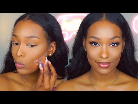 3 in 1 GRWM | Hair, Makeup + Outfit | FabulousBre