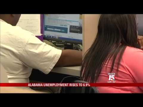 Ala. Unemployment Rises