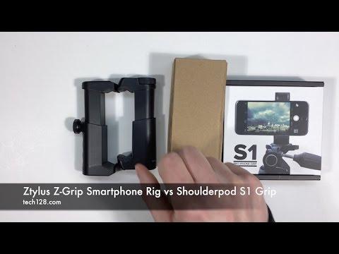 Ztylus Smartphone Rig vs Shoulderpod S1 Grip
