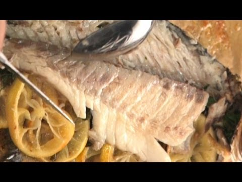 How to Fillet Cooked Fish