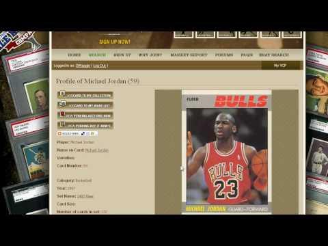 Michael Jordan Graded Basketball Card Value Price Guide