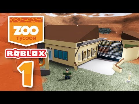 BUILDING MY OWN ZOO - Roblox Zoo Tycoon #1