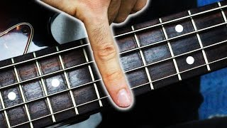 ONE FINGER BASS SOLO