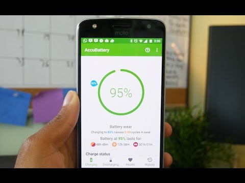 Your actual Android Battery Capacity