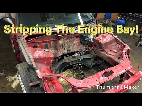 How To Wire Tuck And Clean Up Your Engine Bay Part 1. Honda Civic EK Hatch Project