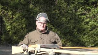 Shooting Machetes with the Slingshot