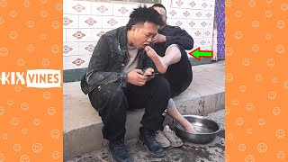 Funny videos 2021 ✦ Funny pranks try not to laugh challenge P195