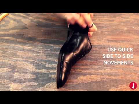 How To Shine Your Shoes | Shoe Polishing Tips | Ties.com