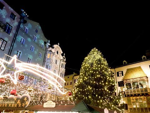 Innsbruck Christmas Market, Tyrol, Austria