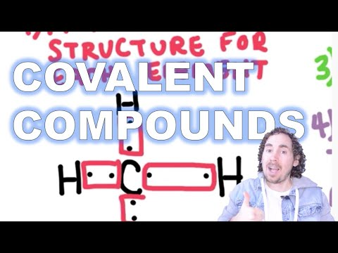 Covalent Bonds: How to draw the structural formula and write the molecular formula
