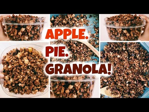 Apple Pie Granola!