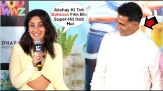 Kareena Kapoor Makes FUN Of Akshay Kumar For Getting FLOP Public Reaction For Housefull 4