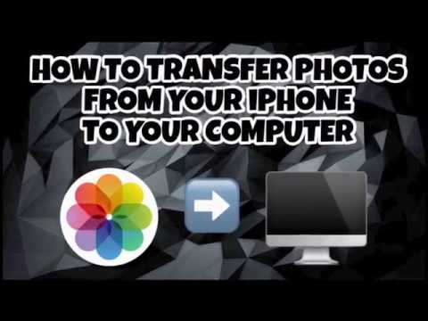 How to Transfer Photos and Videos from iPhone to Computer | iPhone/iPad/iPod 2017