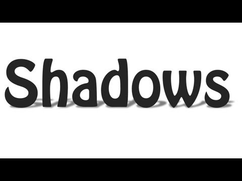 Photoshop Tutorial - How To Add Shadows To Your Objects in Photoshop