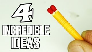 4 incredible ideas with Matches