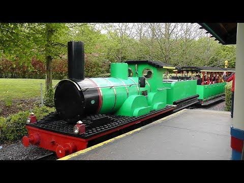 Heartlake City Express, Legoland tour aboard the Lego Railroad, Legoland Windsor
