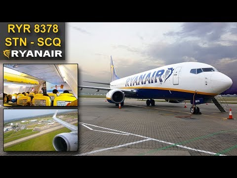 TRIP REPORT | Ryanair | LONDON STANSTED - SANTIAGO | Boeing 737