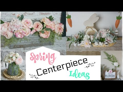 SPRING CENTERPIECE IDEAS | DIY IDEAS USING GOODWILL ITEMS | Momma from scratch
