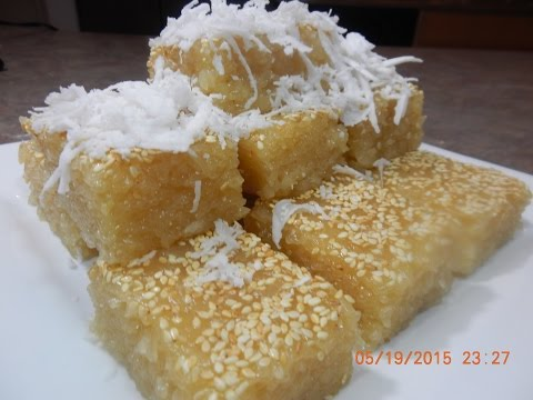 Palm Sugar in Sticky Rice Dessert Recipe (Treap)